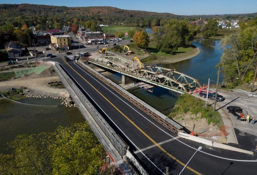 Whitney Point Bridge over Tioughnioga River