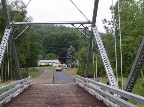Wood Road Truss Bridge | Vector Construction Corporation